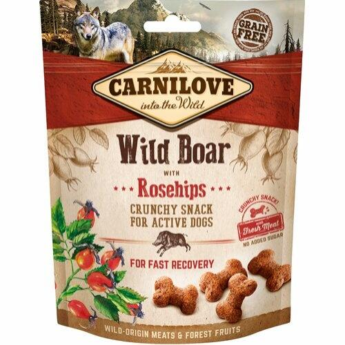 Carnilove wildboar with rosehip