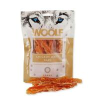 WOOLF Chicken Jerky Bars 100g  (Kylling)